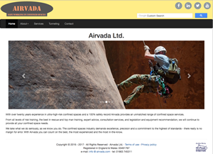 Airvada Ltd. website