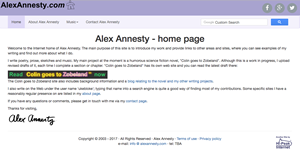 Alex Annesty website